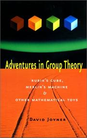 Adventures in group theory PDF
