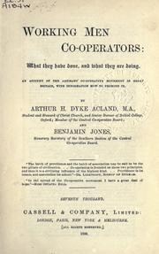 Working men co-operators PDF
