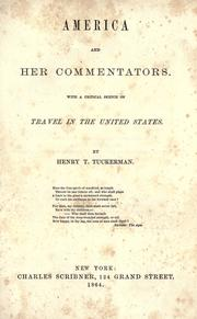 America and her commentators PDF