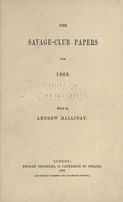 The Savage-club papers PDF