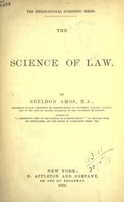 The science of law PDF