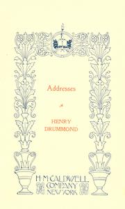 Addresses PDF