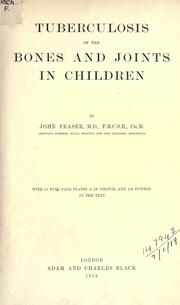 Tuberculosis of the bones and joints in children PDF