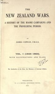 The New Zealand wars by Cowan, James