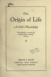 The origin of life PDF