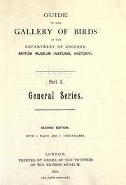 Guide to the gallery of birds in the Department of Zoology, British Museum (Natural History) by British Museum (Natural History). Department of Zoology