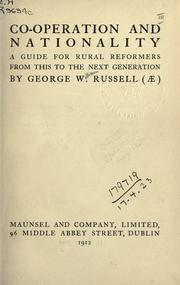 Co-operation and nationality by George William Russell
