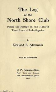 The log of the North shore club PDF