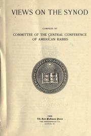 Views on the synod by Central Conference of American Rabbis.