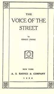 The voice of the street PDF