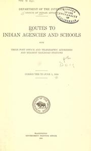 Routes to Indian agencies and schools PDF