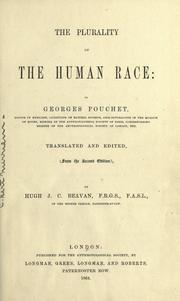 The plurality of the human race by Georges Pouchet