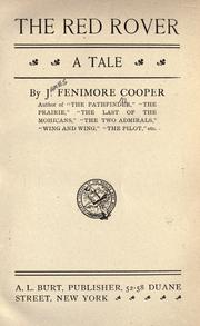 Cover of: The red rover by James Fenimore Cooper