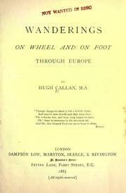 Wanderings on wheel and on foot through Europe PDF