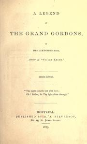 A legend of the Grand Gordons PDF
