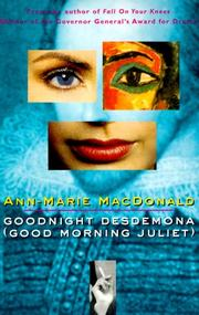 Goodnight Desdemona (good morning Juliet) PDF