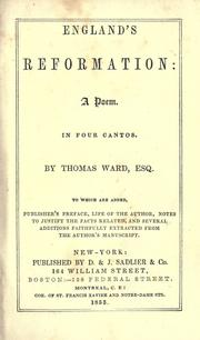 England's Reformation by Ward, Thomas