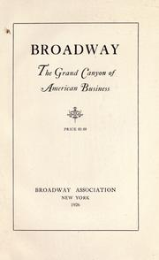 Broadway by Broadway Association.