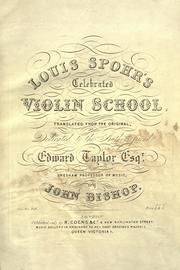 Violin-Schule by Louis Spohr