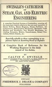 Swingle's catechism of steam, gas, and electric engineering .. PDF