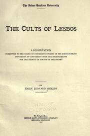 The cults of Lesbos by Emily Ledyard Shields
