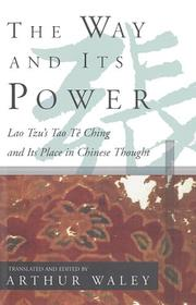 The way and its power by Laozi