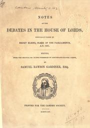 Cover of: [Publications] by Camden Society (Great Britain).
