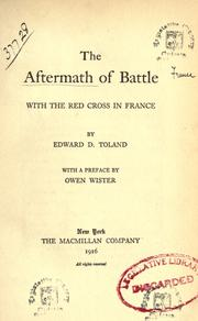 The aftermath of battle PDF