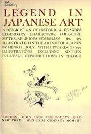 Legend in Japanese art by Henri L. Joly