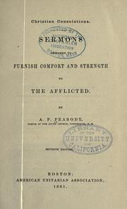 Christian consolations by Peabody, Andrew P.