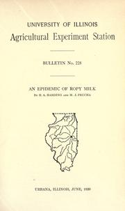 An epidemic of ropy milk PDF