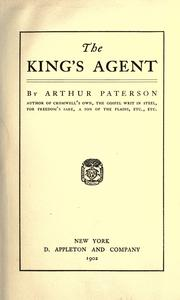 The king's agent PDF