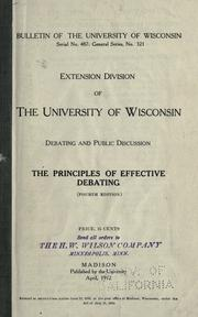 The principles of effective debating PDF