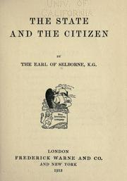 The state and the citizen PDF