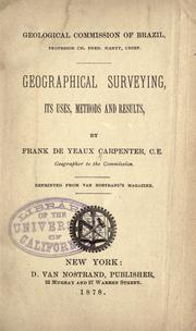 Geographical surveying, its uses, methods and results PDF
