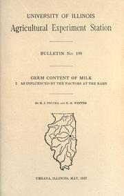 Germ content of milk PDF