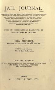 Jail journal by John Mitchel