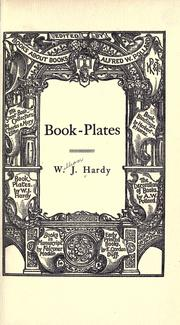 Book-plates by William John Hardy