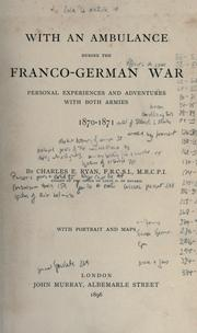 With an ambulance during the Franco-German war PDF