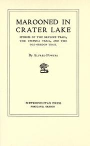 Marooned in Crater Lake PDF