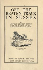 Off the beaten track in Sussex PDF