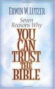 Seven reasons why you can trust the Bible PDF