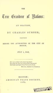 The war system of the commonwealth of nations by Sumner, Charles