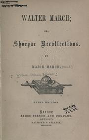 Walter March PDF