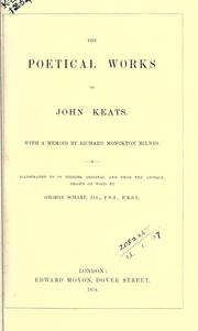 Poetical works by John Keats