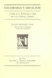 Coleridges idealism