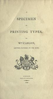 A specimen of cast ornaments by William Caslon