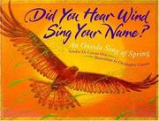 Did you hear wind sing your name? PDF