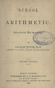 School arithmetic by Charles Davies