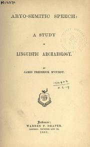 Aryo-semitic speech PDF